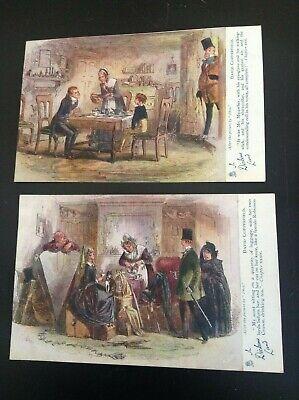 Lot de 2 Cartes postales David Copperfield