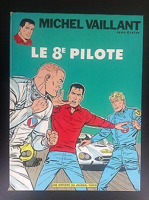 Michel Vaillant Le 8e pilote réed 1968 Graton BE+ à TBE