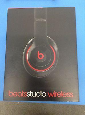 OPEN BOX! Beats by Dr. Dre Studio 2.0 Wireless Black, Model B0501