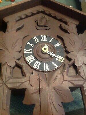 Vintage Large German Black Forest Cuckoo Clock. PARTS OR REPAIR