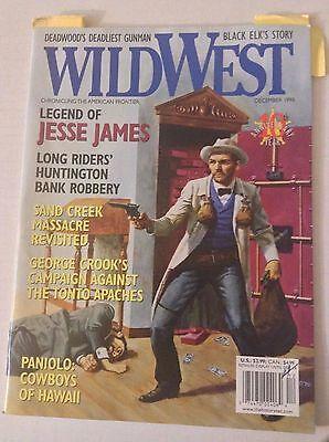 Wild West Magazine Jesse James Huntington Bank Robs December 1998 051117Nonrh2