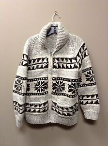 Genuine handmade cowichan sweater authentic size m