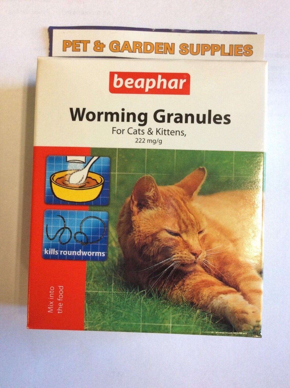 beaphar Worming Granules for Cats and Kittens (4 sachet)