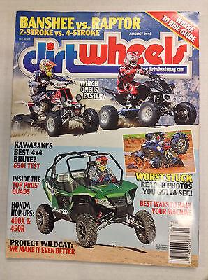 Dirt Wheels Magazine Kawasaki Best 4x4 Brute 650i Test August 2012 (Best Dirt Bike Wheels)