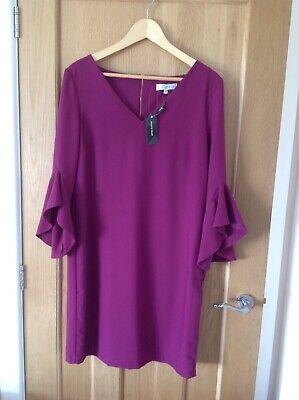Issa London Purple Dress House Of Fraser Size 12 BNWT