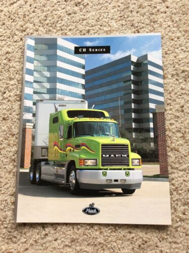 1996  Mack trucks, models CH series,  color sales catalogue.