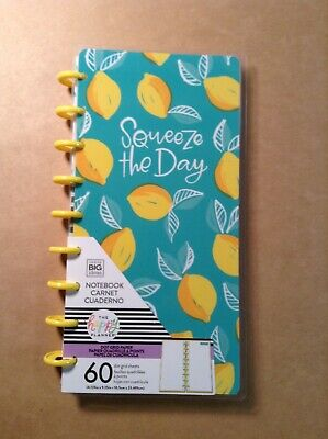 New Me My Big Ideas The Happy Planner Squeeze The Day Notebook - Dot Grid