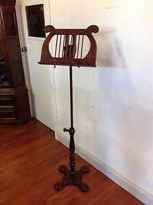 As New Adjustable Timber Music Stand Mulgrave Monash Area Preview