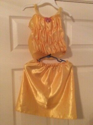 Girls Belle Dress (Disney Belle Costume/Dress Up Dress Size)