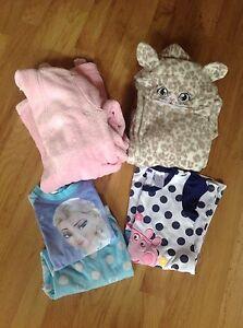 Girls sleepwear bundle Winter/Summer - suit 3-5 year old Athelstone Campbelltown Area Preview