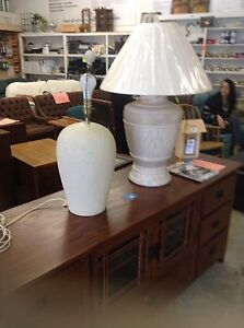 Stratford ReStore table lamps