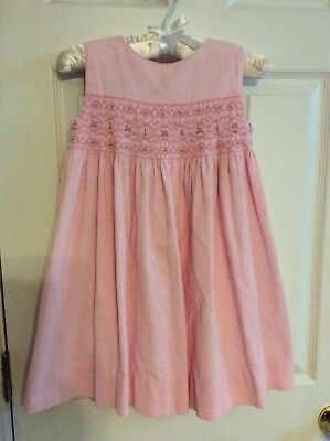 The Plantation Shop Children's Collection Pink Smocked Corduroy dress Size - Kids Dress Shopping
