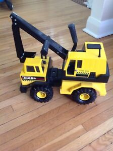 Vintage Tonka Mighty Diesel (Steel Backhoe)