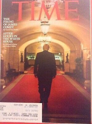 Time Magazine Donald Trump James Comey May 22, 2017 101217nonrh3