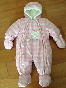 Warm snowsuit 6 months