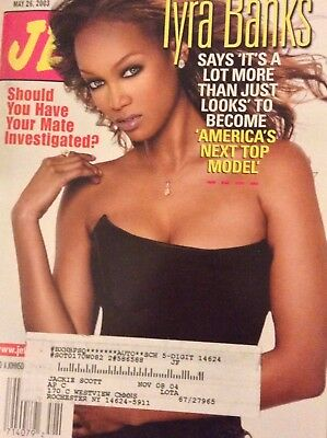 Jet Magazine Tyra Banks May 26  2003 090417Nonrh