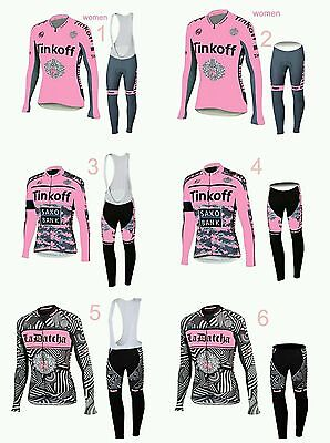 equipacion invierno mujer saxo bank tinkoff maillot culotte mtb ciclismo btt