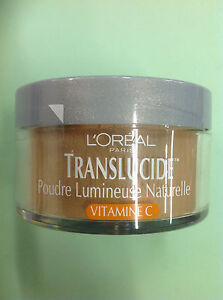 Loreal Translucide Naturally Luminous Loose Powder #962 DEEP NEW & SEALED.