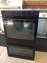 St. George double wall oven black 2002 6.65 kW Elanora Heights Pittwater Area Preview