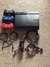 PS3 super slim 12gb with games Echuca Campaspe Area Preview