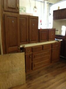 Gently used kitchen at HFH restore