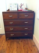 Old wooden chest of draws Burwood Heights Burwood Area Preview