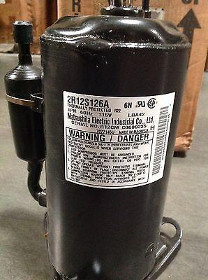 Discounthvaccp-p0340704-carrier Compressor 2r12s126a 115v R22 Free Freight