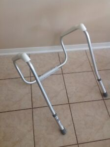 Toilet Safety Frame Anodized Aluminum Arm Rest Support