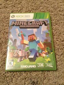 Xbox 360 minecraft game