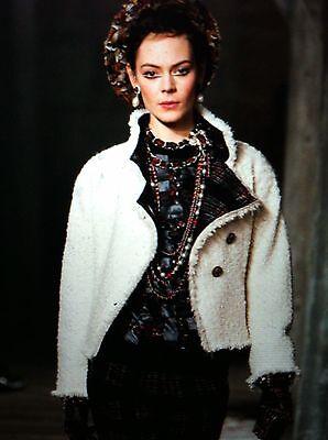 Chanel NEW TAGS 13A Paris Edinburgh Tweed Ecru Woven Multicolor Jacket FR40$7.5K