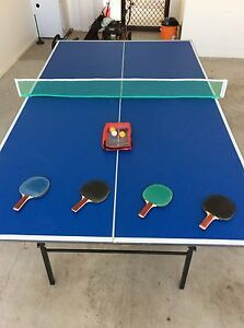 Table Tennis Table + Accessories Beerwah Caloundra Area Preview