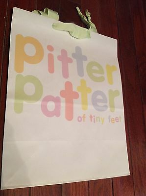 Pitter Patter of Tiny Feet Gift Bag by Hallmark Medium Size](Tiny Gift Bags)