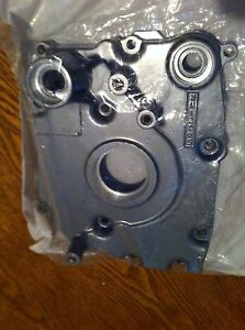 kawasaki kef 300 lakota transmission engine side cover, lakota sprocket cover