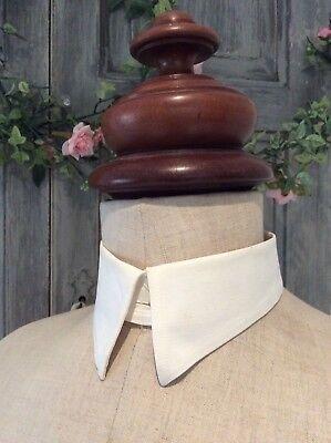 Antique Victorian Gentleman's Detachable Shirt Collar Insert~Patented VAN HEUSEN