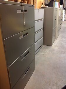 LOTS OF 2/3/4/5/6 DRAWER VERTICAL /LATERAL METAL FILING CABINETS