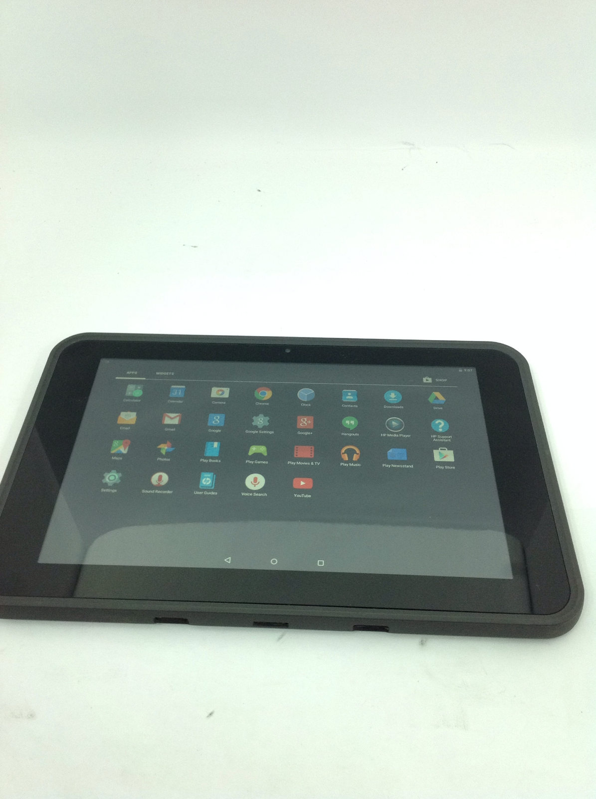 "HP ProSlate 10EEG1 Tablet 10.1"" Intel Atom 1.33GHz, 2GB RAM, 16GB (BAD CAMERA)"