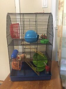 Hamster or gerbil cage