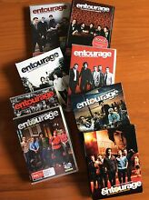 Entourage... DVD  Series 1-7. *REDUCED* Woy Woy Gosford Area Preview