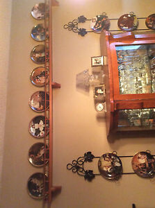 Norman Rockwell plate collection..$15.00 each  40 plates in all