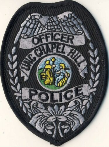 """UNC Chapel Hill North Carolina NC Police Officer 3.75"""" Patch"""