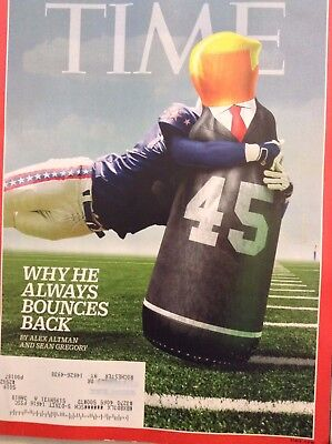 Time Magazine Why Donald Trump Bounces Back October 9, 2017 101217nonrh