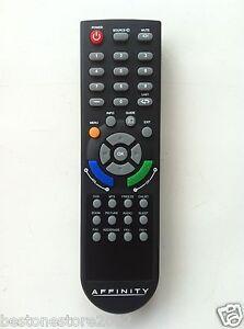 Affinity tv remote