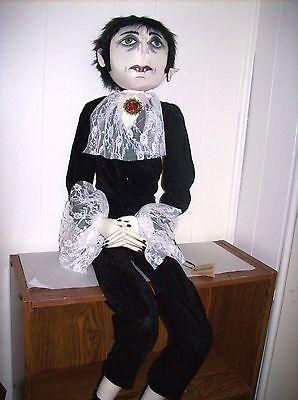 """Austin Vampire Gentleman"" Soft Figure designed by Joe Spencer for Gallerie II"