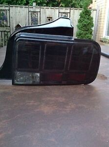 Ford Mustang 2005 thru 2009 LED TAIL LIGHTS - Smoked Lens