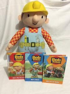 Bob The Builder plush toy and books Cairnlea Brimbank Area Preview