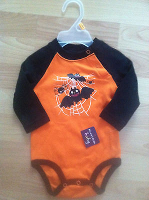 Infant Halloween Costume Size 3-6 Months Onezee Long Slev Spider Haloween - Haloween Outfits