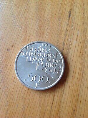 500 francs 150 ANS D'INDÉPENDANCE DE LA BELGIQUE