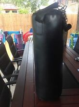 20 kg punching bag and boxing gloves. Carindale Brisbane South East Preview