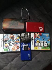 DS, games,case and charger New Lambton Newcastle Area Preview