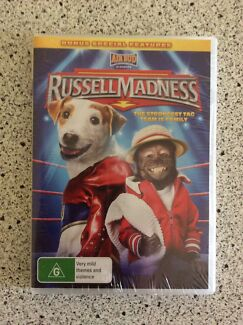 Brand New In Plastic Seal - Russell Madness DVD Ashtonfield Maitland Area Preview